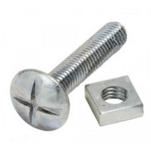 M6 Roofing Bolts & Nuts (Per 100)